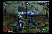 Oruks fight