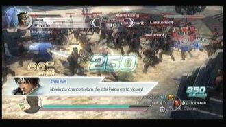 Dynasty Warriors 6 Empires CAW Chaos gameplay, Siegfried Schtauffen 1 2