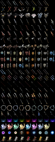 Soul Calibur V weapons