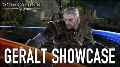 SOULCALIBUR VI - PS4 XB1 PC - Geralt Showcase (Behind the scenes video)