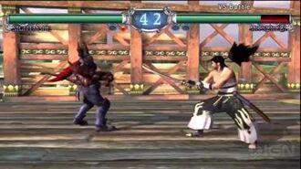 Soulcalibur II HD - Mitsurugi vs. Nightmare-0