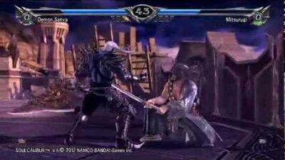 Demon Sanya (Soul Edge) Vs Mitsurugi