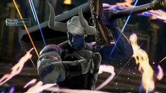 SoulCalibur 6 - Demon Sanya (Critical Edge and Soul Charge)