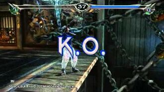 SOULCALIBUR V Rage(2P) Gameplay
