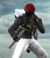 Fresh Fighting stance