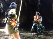 Alexandra finds Mitsurugi