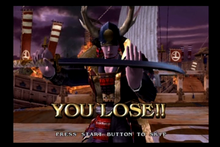Samurai wins