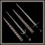 Witcher's Steel Sword & Silver Sword