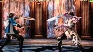Soul Calibur V Shura vs Leandra-0