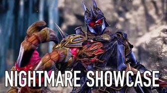 SOULCALIBUR VI - PS4 XB1 PC - Nightmare showcase (Behind the scenes video)