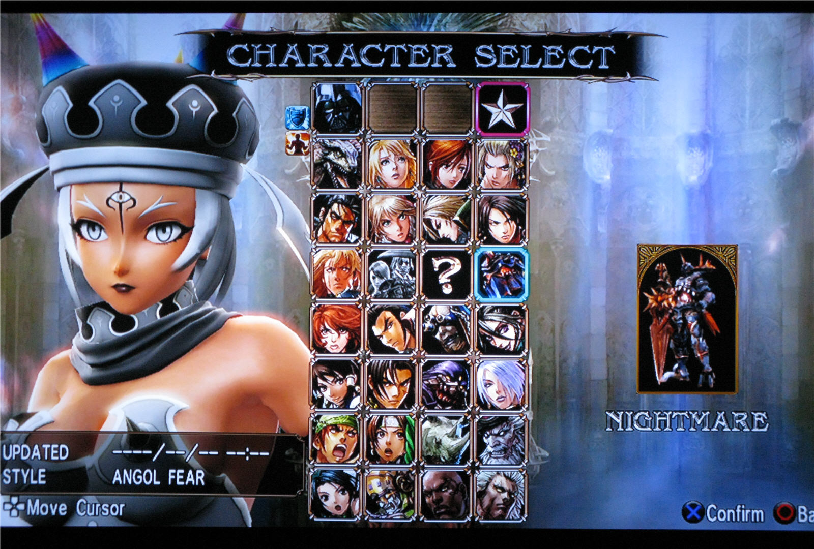 Image - Angol fear character select.png | Soulcalibur Wiki ...