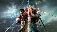 SC6 Mitsurugi and Geralt