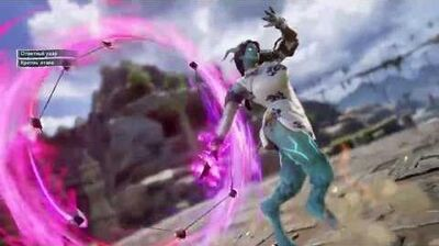 SoulCalibur 6 - Draenei Carmella (Critical Edge and Soul Charge)