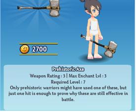 Prehistoric Axe