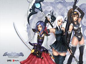 Soul Crash Anime Sera,Lucy,and Terri