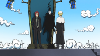 Soul Eater Episode 31 HD - Death instructs Justin 2
