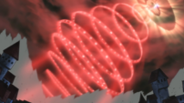 Soul Eater Episode 24 HD - Death Blocks slams Asura's wavelength into Death City