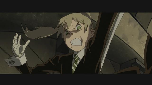File:Soul Eater Opening 1 HD - Maka strike 1.png