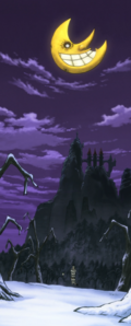 Soul Eater Episode 13 HD - Witch Prison exterior (STITCHED)