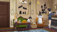 Soul Eater NOT Episode 9 - Dorm at Halloween