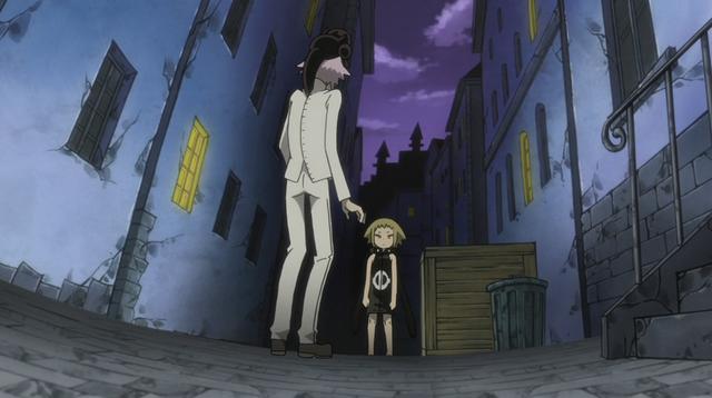File:Soul Eater Episode 31 HD - Crona reunites with Medusa 5.png