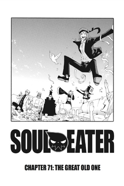 Soul Eater Chapter 71 - Cover