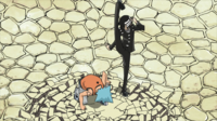 Soul Eater Episode 38 HD - Kid defeats Black Star (1)