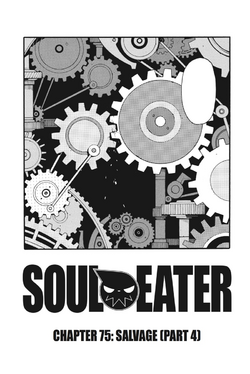 Soul Eater Chapter 75 - Cover