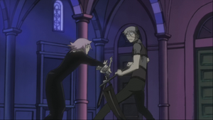 Episode 8 -Stein fights Crona