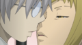 Soul Eater Episode 18 - Medusa leans in for a kiss