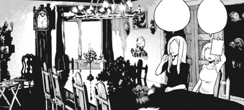 Soul Eater Chapter 90 - Liz and Patty can't write will