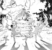 Soul Eater 44 - Ox and Kilik party with the Wrath Giant