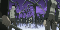 Soul Eater Episode 13 HD - Eruka sees Witch Prison guards arrived (STITCHED)