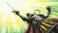 Soul Eater Episode 17 - Arthur wields Excalibur