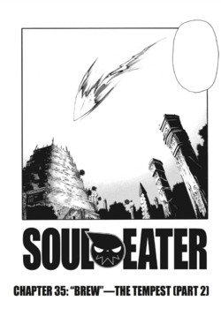Soul Eater Chapter 35 - Cover