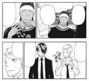 Soul Eater NOT Chapter 31 - Anti Witch staff copes with heat