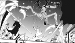 Jack attacks Maka and Soul