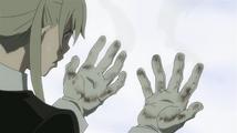 Soul Eater Episode 13 HD - Maka's hands burned