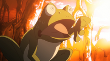 Soul Eater Episode 13 HD - Eruka watches flamethrower engulf Free