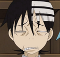 Soul Eater Episode 9 - Death the Kid Excalibur Face