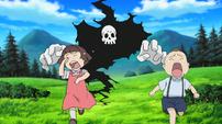 Soul Eater Episode 24 HD - Children scared of Old Death