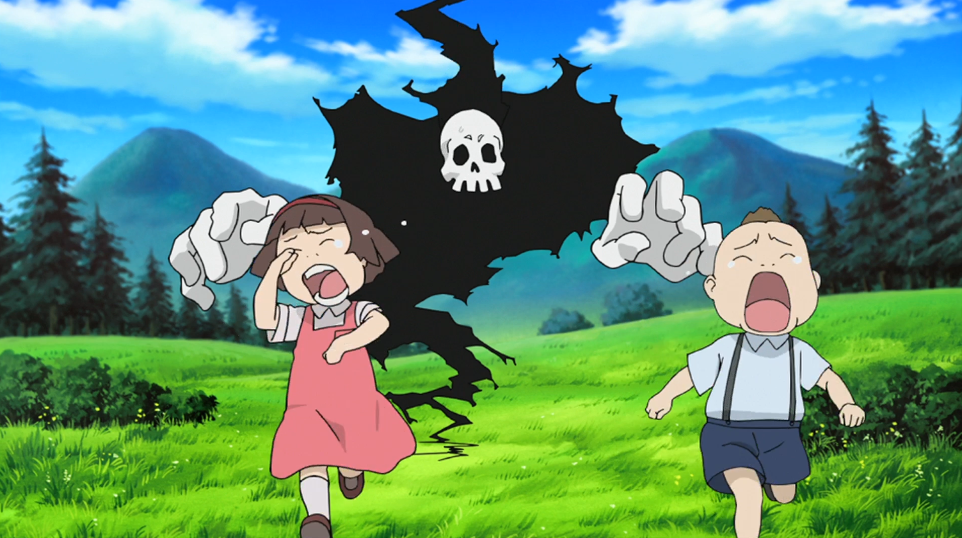 image - soul eater episode 24 hd - children scared of old death