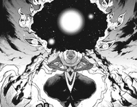 Chapter 110 - Asura preparing an Energy Orb attack