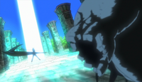 Soul Eater Episode 34 - Makas anti-demon wavelength during her battle with Mosquito