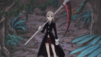 Soul Eater Episode 48 HD - Maka runs to Death City Robot (7)
