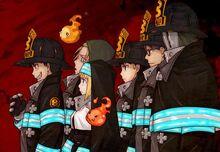 Fire Brigade of Flames cast