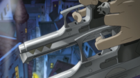 Soul Eater Episode 3 HD - Kid aims Thompsons