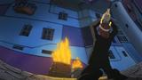 Soul Eater Episode 14 - Spirit prays at Maka's apartment