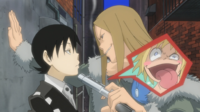 Soul Eater Episode 15 - The Thompsons mug Kid