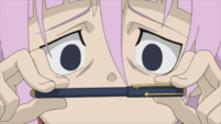 Soul Eater Episode 31 HD - Crona with the snake pen